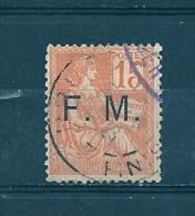 Franchise Militaire  N°1 Oblitéré (cote 8€) - Franchise Militaire (timbres)