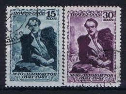 Russia: 1941 Mi  819 - 820  Used
