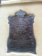 40 Jaar Royal Antwerp Bicycleclub 22/4/1922, A Henri Remes, 66 Gram (medailles0019) - Belgium
