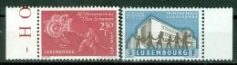 Luxemburg 1960 European Steel And School MNH** - Lot. 2519 - Luxembourg