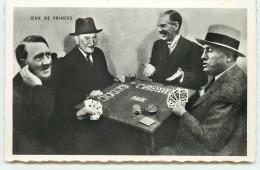 Accords De Munich 1938 Chamberlain, Daladier, Hitler, Mussolini - Jeux De Princes - Cartes - Hommes Politiques & Militaires