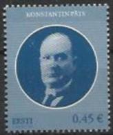 EE 2014 KONSTANTIN PATS, ESTONIA, 1 X 1v, MNH - Estland
