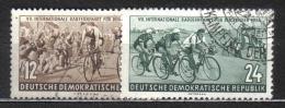 W103 - DDR , Corsa Praga Varsavia : Serie N. 426/427 Usata - Ciclismo