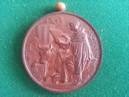 Gemeente Berchem 1ste Prijs Bouworden (onderdeelen) Aan Eug. Dewez 1898-1899 (Raeinckx, Baetes), 48 Gram (medailles0044) - Autres