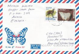 Ethiopia 2010 Awassa Quartz Minerals Bushbuck Cover - Mineralen