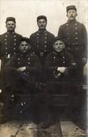 CPA -  CARTE PHOTO -  Groupe De Soldats Du 160éme  Régiment De Chasseurs ALpins - 1914-18