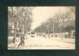 Toulon (83) - Avenue Lazare Carnot ( Animée Tramway Ed. J. Felix) - Toulon