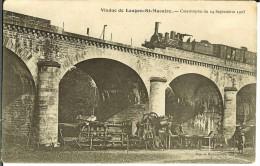 CPA  Viaduc De Langon-St Macaire, Catastrophe Du 24 Septembre 1905  9800 - Catastrophes
