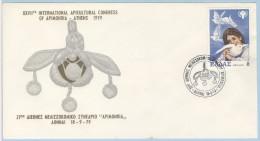 1979  Bees, Honeybees  International Apicultural Congress. Special Commemorative Cancel - Abeilles
