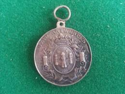 Stad Antwerpen, Eerste Schouwburg, 23/8/1869 (Baetes), 8 Gram (medailles0068) - Professionnels / De Société