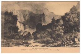 Le Vieux Rouergue Gorges Du Tarn Le Pas De Souci  Dessin De Brascassat 1833 - Gorges Du Tarn