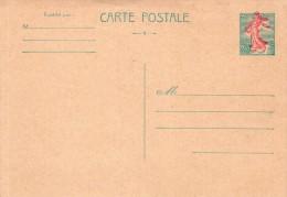 FRANCE :  ENTIERS POSTAUX . SEMEUSE DE PIEL . IMPRESSION DÉCALÉE . 1960 . - Cartes Postales Types Et TSC (avant 1995)