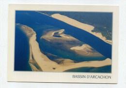 CP , 33 , BASSIN D' ARCACHON , Le Banc D'Arguin Devant La Dune Du Pilat - Arcachon