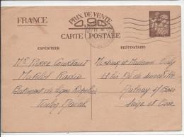 Entier Postal Iris Du Bat De Ligne, Richelieu RARE - Entiers Postaux
