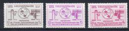 1965 Libye - Centenaire De L'Union Int. Des Télécommunications , YT No. 267 - 269, Neuf **, Lot 41270 - Poste