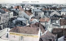 ROMILLY-SUR-SEINE - LE PANORAMA SUD DE LA VILLE - BEAU PLAN COULEUR -  TOP !!! - Romilly-sur-Seine