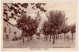 Lentilly - La Place - France