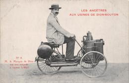 ¤¤  -  NANTES  -  Mr Le Marquis DE DION Sur Son Tricycle à Vapeur En 1887    -  ¤¤ - Nantes