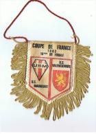 COUPE DE FRANCE 1982  16em DE FINALE US MAUBEUGE  US VALENCIENNES - Habillement, Souvenirs & Autres