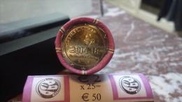 2 EURO COMMEMORATIVE BELGIQUE 2014 1ERE GUERRE MONDIALE NEUVE UNC DE ROULEAU - Belgique