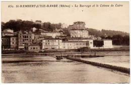 St Rambert L'Ile Barbe - Le Barrage Et Le Coteau De Cuire - France