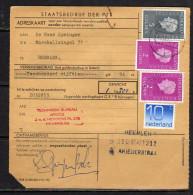Adreskaart ARGOS Hilversum Heerlen (Q13) - Unclassified