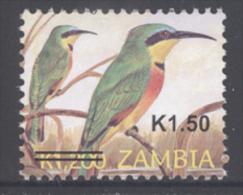 Zambia (2013) - Overprint Set -   /  Aves - Birds - Oiseaux - Vogel - Vogels