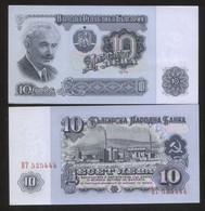Bulgaria 10 Leva 1974 Pick 96 UNC - Bulgaria
