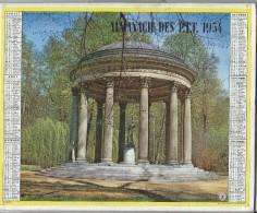 Almanach Des PTT/Avec Cahier Central/20 Pages/Eure Et Loir/Chartres /  Gloriette Et Acqueduc  / 1954      CAL165 - Big : 1941-60