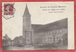 67 - SILTZHEIM - Eglise - Partie Du Village - Epicerie Nicolas HUVER - France