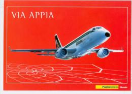 2004- ITALIA - CARTOLINA FILATELICA - ALITALIA EXPRESS - 6. 1946-.. Republic