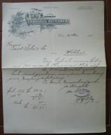 FATTURA  THADDAUS REITZNER WIEN AUSTRIA ANNO 1904 - Austria