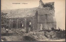 - FRANCE (62) - CPA écrite MARQUION - L'Eglise - Edition Méresse - - Other Municipalities