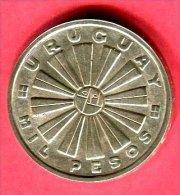 URUGUAY 1000 PESOS FAO  TTB/SUP 42 - Uruguay