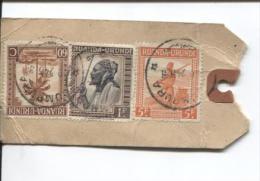 Ruanda-Urundi Echantillon Sans Valeur Recommandé Usumbura 1945 V.Jumet PR668 - Ruanda-Urundi