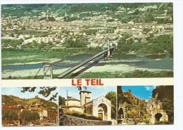 STE-M@ CP LE TEIL, VUE GENERALE AERIENNE, ARDECHE 07 - France