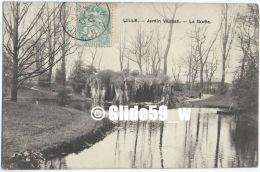 LILLE - Jardin Vauban - La Grotte - Lille