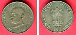 INDE 10 ROUPIES GANDHI 1968  TTB  22 - India