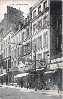 (14) Caen - Rue St Saint Pierre Commerces N°42 GIRARD Parapluies Auguste Bosquin Faïences Fumisterie Lavieille Thillais - Caen