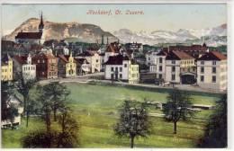 HOCHDORF, Ct. Luzern - 1917,  Vollstempel - LU Lucerne
