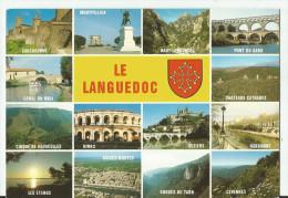 CPM CARTE POSTALE MODERNE - 34 - HERAULT - LE LANGUEDOC écrite Non Timbrée - Frankreich