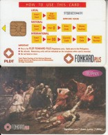 PHILIPPINES(chip) - Painting/Spoliarium(reverse C-glossy Surface-chip IN2), Exp.date 31/12/98, Used - Philippines