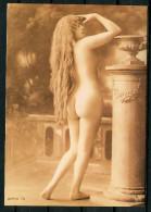 "CPM S/w Retro Photo AK Germany,Allemagne Portrait Femme ""Yvonne ""1 Karte Blanco. - Pin-Ups"
