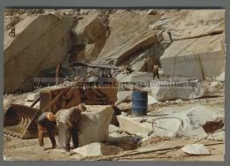 T3567 CARRARA LAVORAZIONE DEL MARMO NELLE CAVE VG MESTIERI (m) - Carrara