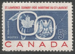 Canada. 1959 Opening Of St Lawrence Seaway. 5c MH - 1952-.... Reign Of Elizabeth II