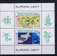 Cyprus: Michel Block 4 1983 MNH/** CEPT