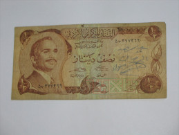 1/2 Half  Dinar - JORDANIE - Central Bank Of Jordan **** EN ACHAT IMMEDIAT **** - Jordanie
