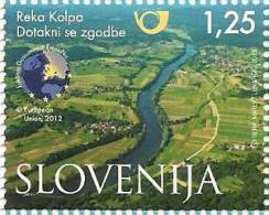 SI 2013-999 RIVER KOLPA, SLOVENIA, 1 X 1v, MNH - Umweltschutz Und Klima