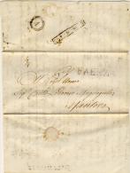Da Faenza Per Mantova Il 10 Aprile 1853 - Rara P.13 (vedi Descrizione) - Lombardo-Veneto