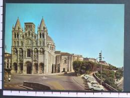 LA CATHEDRALE - SAIT PIERRE - ANGOULEME - 2 Scans (Nº06804) - Angouleme